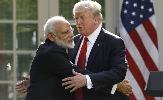 In His First Year As President, Donald Trump Firms Up Ties With India