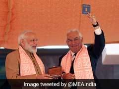 PM Modi Presents Overseas Citizen of India Card To Portugal's Indian-Origin PM Costa