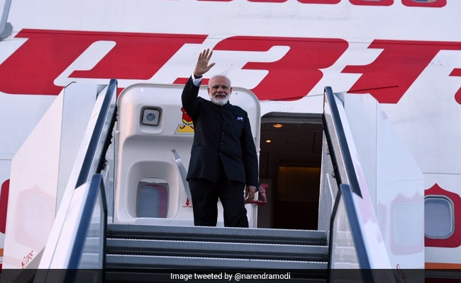 PM Narendra Modi Arrives In France On Last Leg Of 4-Nation Tour