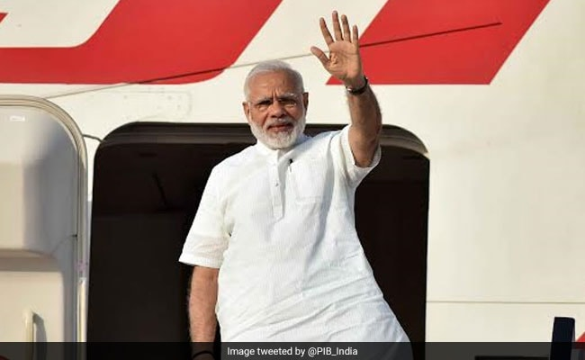 Modi begins 3-nation tour: Holds talks with Portugal PM