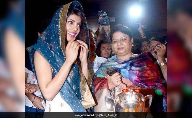 प्रियंका चोपड़ा के ट्रोलिंग से जुड़े सवाल पूछने पर भड़की उनकी मां मधु चोपड़ा