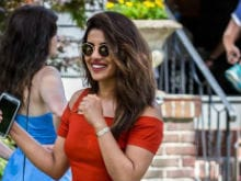 Spotted: Priyanka Chopra On The Sets Of Her New Hollywood Film