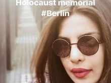 Priyanka Chopra Deletes Holocaust Memorial Selfies After Being Told Off By Twitter