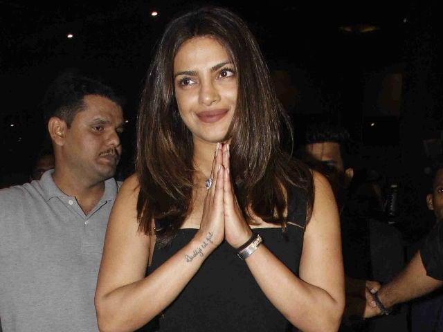 Priyanka Chopra Returns, Welcomed By Mumbai Rain