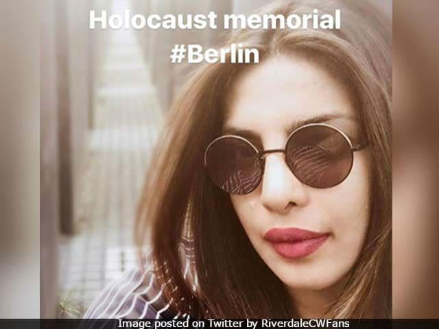 Priyanka Chopra Deletes Holocaust Memorial Selfies After Being Told Off By Twitter