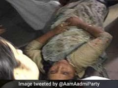 AAP Legislator Faints After Being Allegedly Manhandled In Assembly