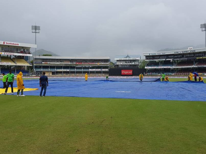 West Indies vs India,1st ODI: Shikhar Dhawan Excels Before Rain Washes Out Opener
