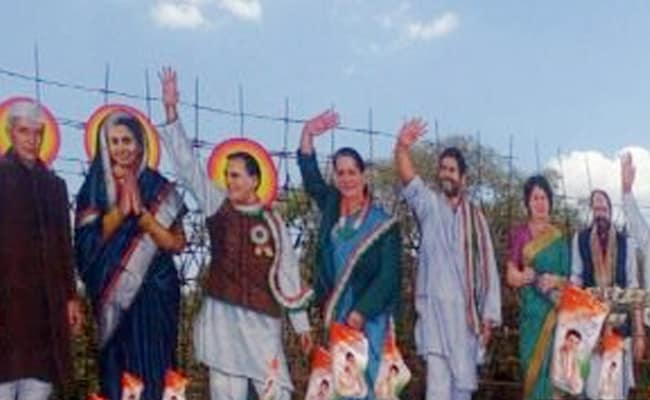 rahul gandhi hyderabad cutout