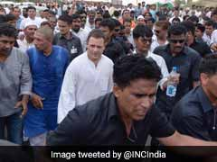 5-Hour Showdown As Rahul Gandhi Is Briefly Arrested On Way To Mandsaur