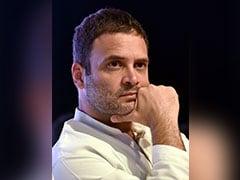 Rahul Gandhi Says PM Narendra Modi's Government Creating 'Atmosphere Of Fear'