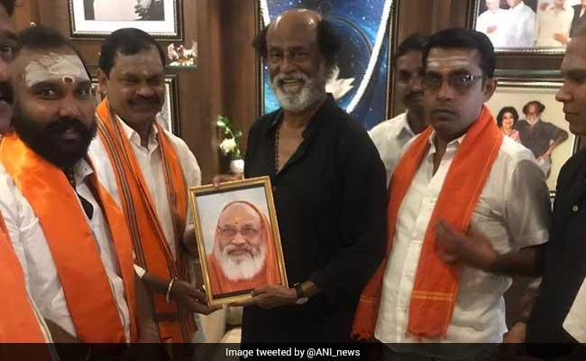 Rajinikanth Meets Hindu Makkal Katchi Leaders, Calls It A 'Courtesy Visit'