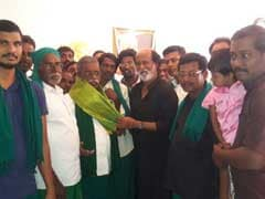 Weeks After Remarks On Politics, Rajinikanth Meets Protesting Farmers