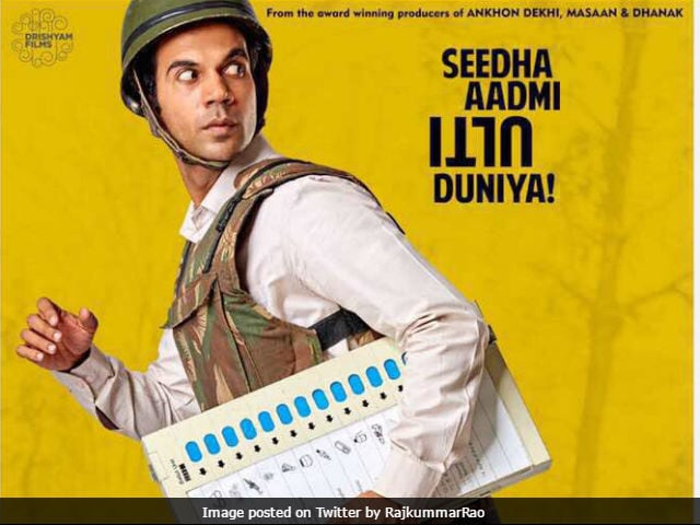 Rajkummar Rao Unveils The Poster Of His Next Film Newton