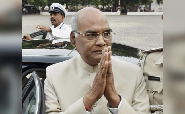 President's Post Is Above Party Politics: Ram Nath Kovind