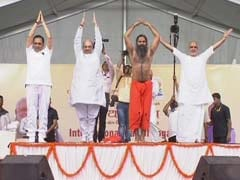 Amit Shah Gains Political Weight, Those Stressed About It Do Yoga: Ramdev