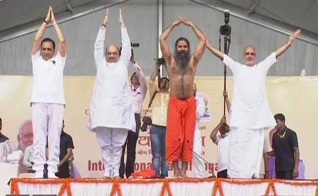 ramdev yoga day