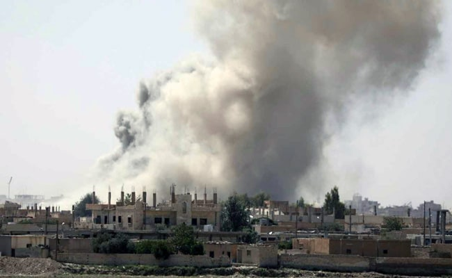 Syrian Government Warplanes Strike ISIS Near Raqqa City: Report