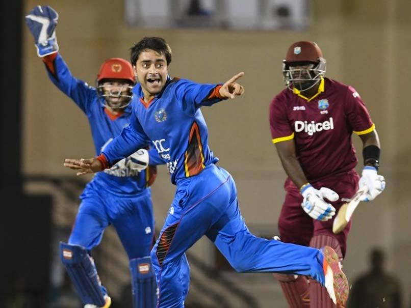 Rashid Khan Stars In Afghanistan's Stunning Win Over West Indies In ODI Series Opener