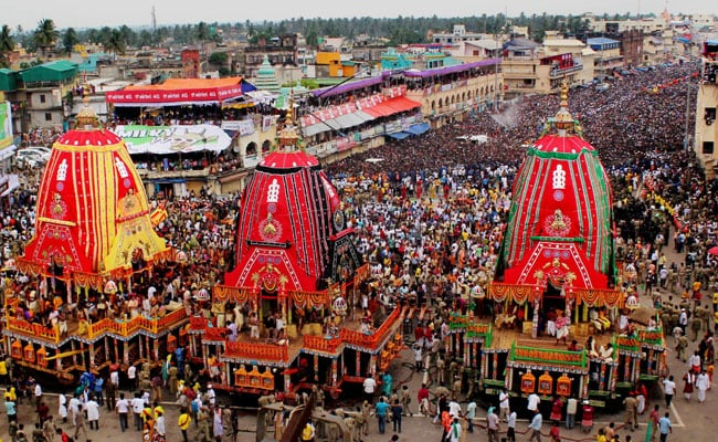 Puri Jagannath Rath Yatra Celebrations Begin Amid Tight Security