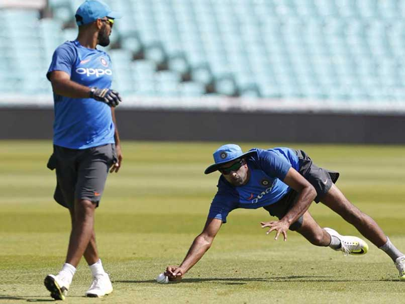 ICC Champions Trophy 2017, India vs Pakistan: Ravichandran Ashwin Hurts His Knee During Practice Session