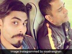 Ravindra Jadeja Catches MS Dhoni Off Guard. Their Selfie Is Going Viral