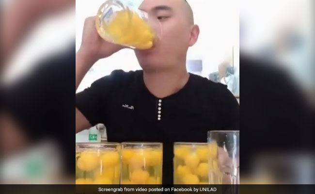 Video: Man Gulps Down 50 Raw Eggs In 17 Seconds, All For Internet Fame