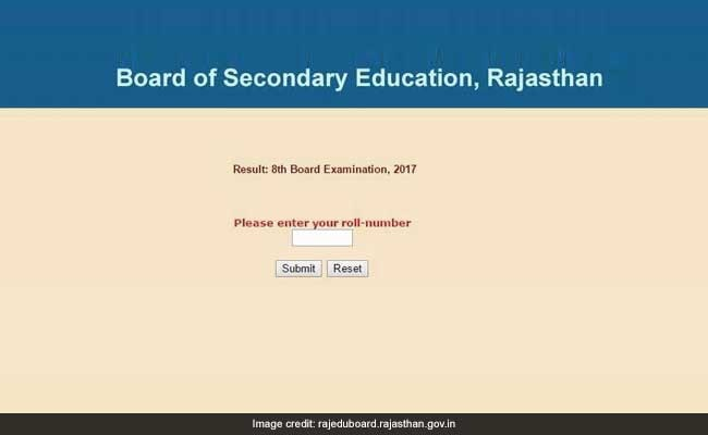 Rbse rajasthan board class 8 results declared check now rbse rajasthan board class 8 results declared check now rajeduboardrajasthan malvernweather
