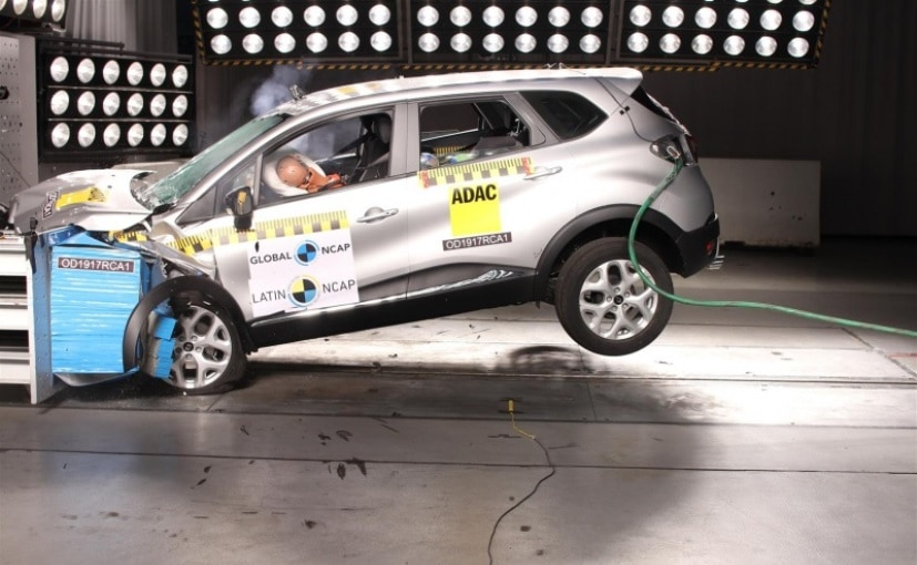 renault captur scores 4 stars in latin ncap crash test will not come to india ndtv carandbike. Black Bedroom Furniture Sets. Home Design Ideas