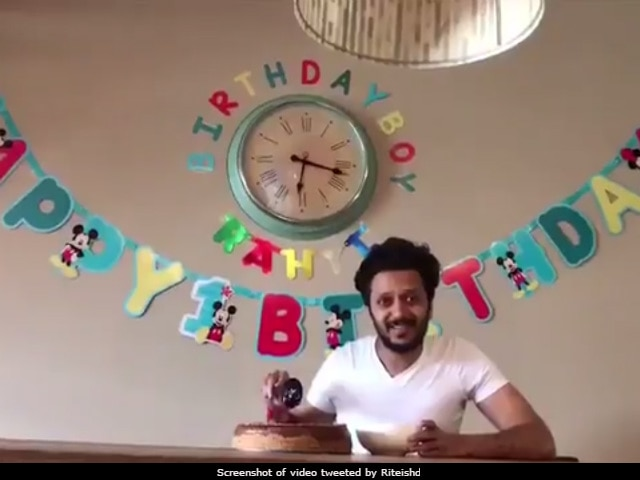 How Genelia And Riteish Deshmukh Are Celebrating Son Rahyl's First Birthday
