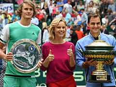 Roger Federer Thrashes Alexander Zverev To Win Ninth Halle Title