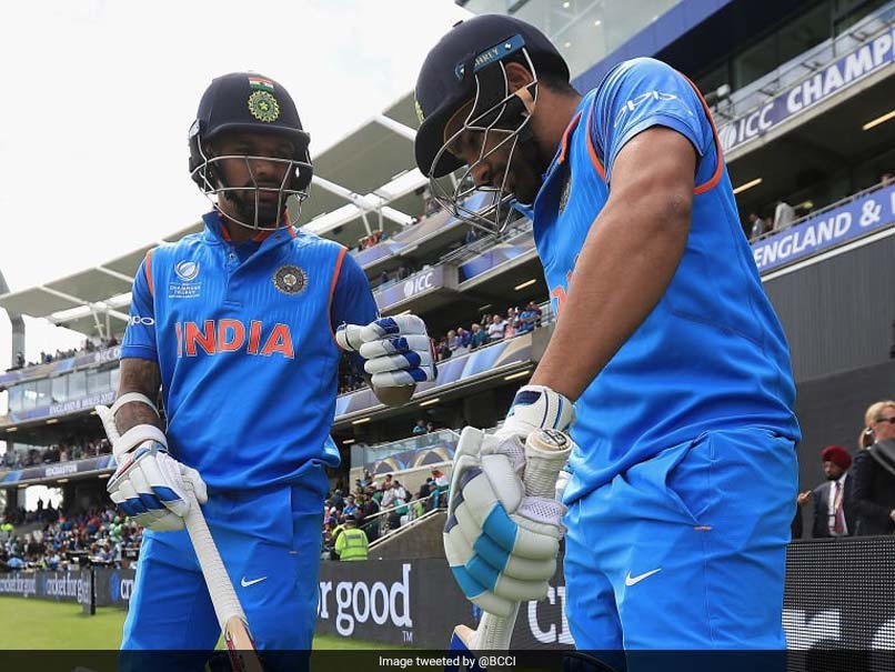 ICC Champions Trophy 2017: Rohit Sharma, Shikhar Dhawan Score Half-Centuries vs Pakistan