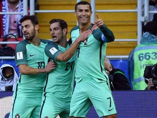 FIFA Confederations Cup: Cristiano Ronaldo Guides Portugal To 1-0 Victory Over Russia