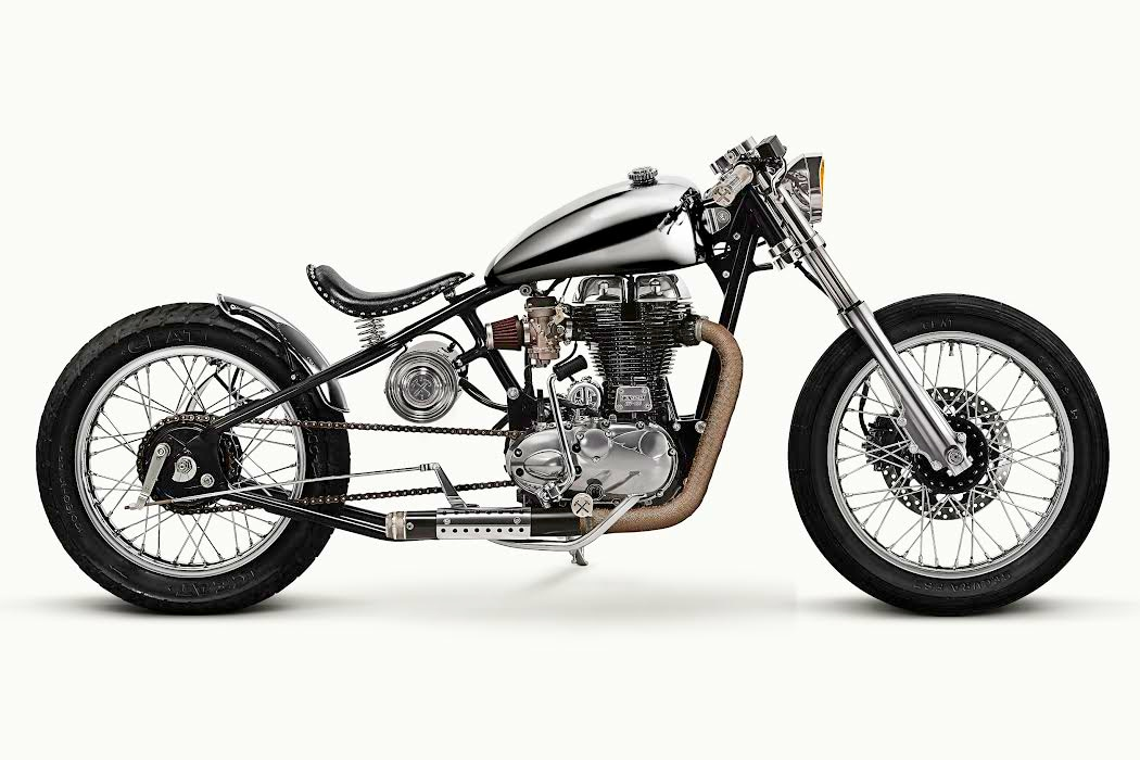 royal enfield customized