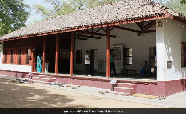 Sabarmati Ashram Sanitised Ahead Of Donald Trump's Ahmedabad Visit