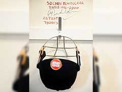 ICC Champions Trophy: Sachin Tendulkar's Helmet In Team India Dressing Room Inspires Players