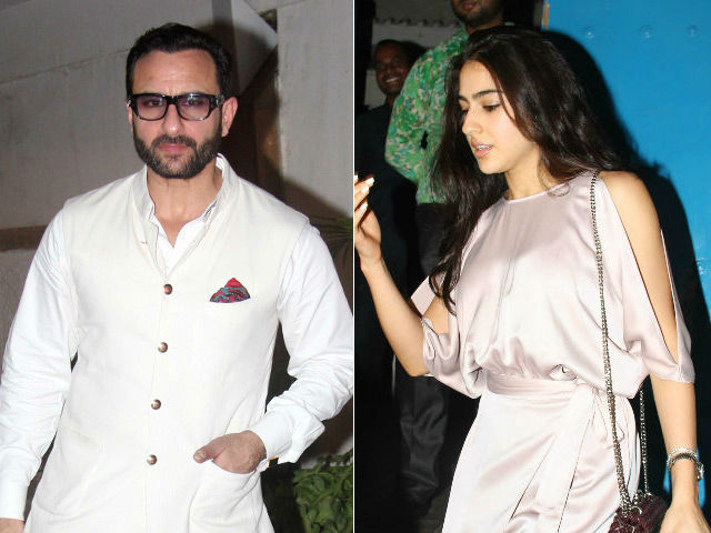 Saif Ali Khan, Ex-Wife Amrita Singh Are 'On The Same Page' About Daughter Sara's Acting Debut