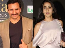 Saif Ali Khan Clarifies - He's A-OK With Daughter Sara's Bollywood Dreams