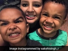 India vs West Indies: MS Dhoni's Wife Sakshi Shares Adorable Photo Of Her 'Two Boys'