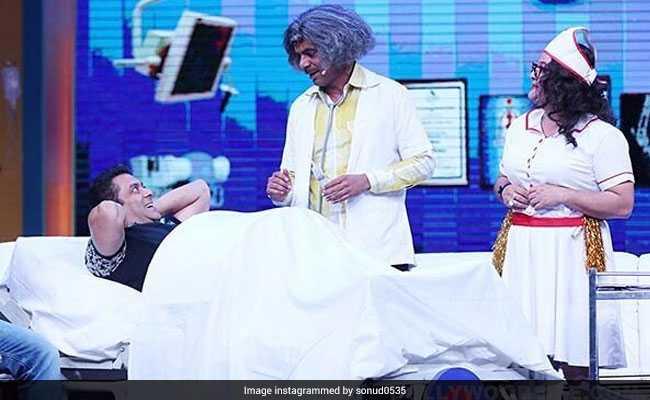कपिल शर्मा को लगा झटका! पुरानी टीम के साथ सलमान खान ने किया 'ट्यूबलाइट' को प्रमोट