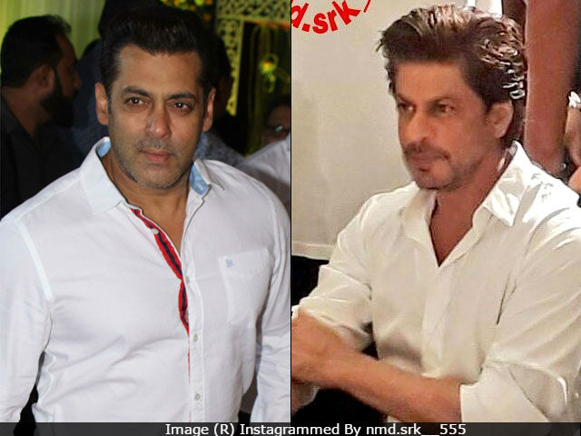 Salman Khan And Shah Rukh Khan Attend Baba Siddique's Iftaar Party. Surprise Guest - Tubelight's Matin Rey Tangu