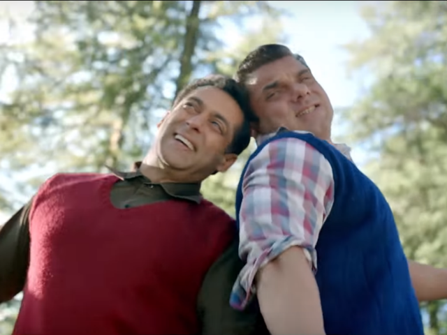 Tubelight: Salman Khan And Sohail Khan In A Pic From The Film's Set