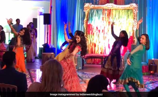 You'll Want To Watch This Bride's Sangeet Performance Again And Again