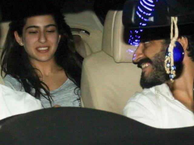 Spotted At Kareena Kapoor's: Rumoured Couple Sara Ali Khan And Harshvardhan Kapoor
