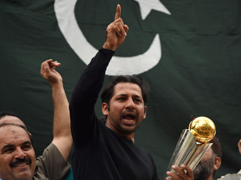 ICC Champions Trophy 2017: Pakistan Captain Sarfraz Ahmed Gets Hero
