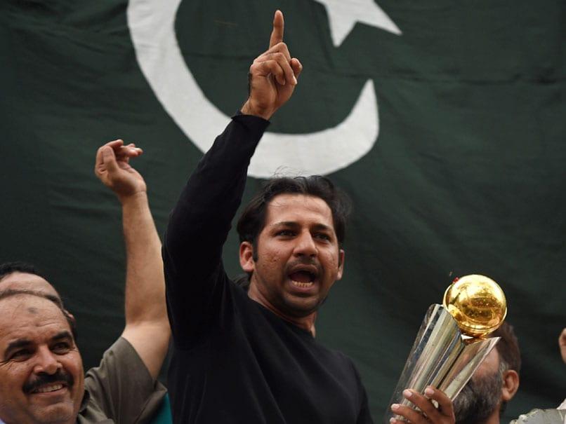 ICC Champions Trophy 2017: Pakistan Captain Sarfraz Ahmed Gets Heros Welcome