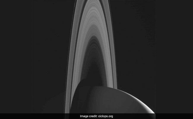 NASA's Cassini Spacecraft Captures Stunning Images of Saturn Rings