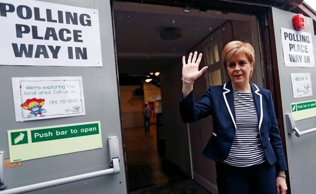 Scottish Leader Nicola Sturgeon Calls Election 'Disastrous' For PM Theresa May
