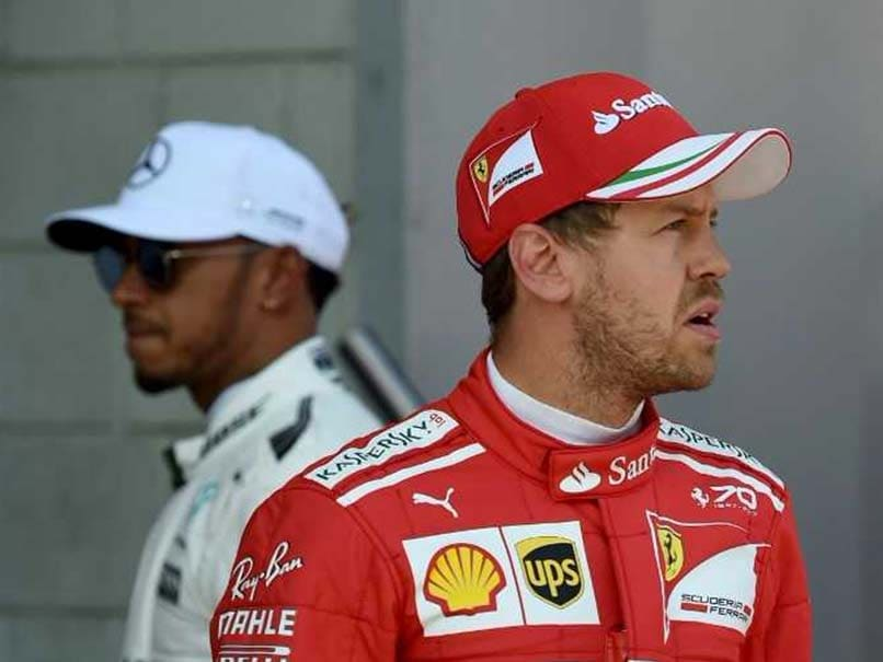 Formula One: Sebastian Vettel Keeps Hopes Alive With Mexico Pole, Lewis Hamilton Third
