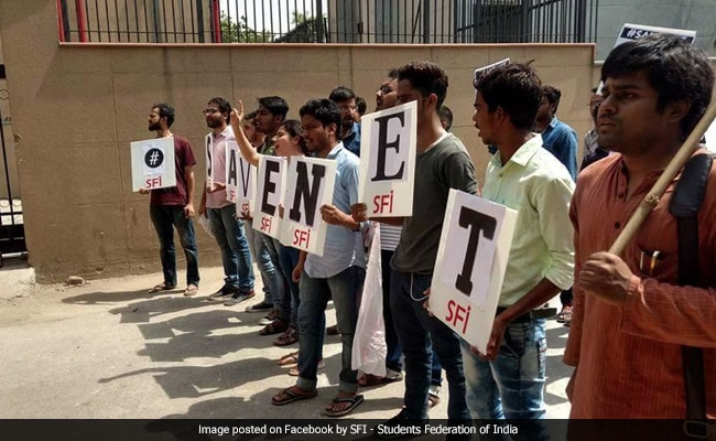 CBSE UGC NET 2017: No July Session Exam This Year, Students Protest