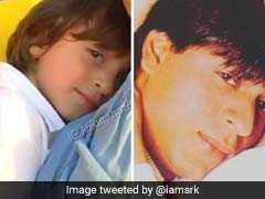 पापा की टू-कॉपी हैं अबराम, यकीन न हो तो देखें शाहरुख खान और उनके बेटे की यह तस्वीर